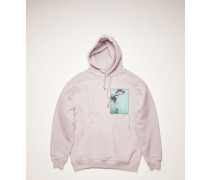 Dog-patch hooded sweatshirt