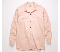 Hemd aus Baumwoll-Twill in kastiger Passform