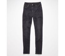 Peg Used Blk Skinny fit jeans