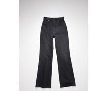1990 Washed Out Black Rigid Bootcut fit jeans