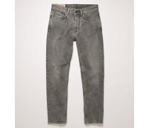 River Dark Stone Grey Jeans mit schmal zulaufendem Bein