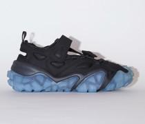 Bolzter Bryz Crystal W Black/blue Velcro sneakers