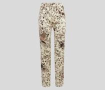 Jeans mit Paisley-Print