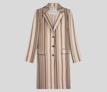 Mantel mit Streifen