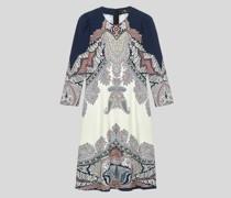 Midi-Kleid mit Floralem Paisley-Print