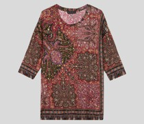 Pullover mit Floralen Paisley-Motiven
