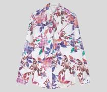 Hemd mit Floralen Motiven