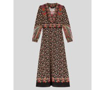 Florales Kleid aus Sable'