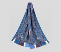 Paisley Schal aus Wolle und Seide