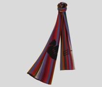 Schal mit Streifen und Pegaso