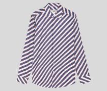 Baumwollhemd mit Streifen