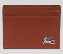 Kreditkartenetui aus Leder mit Pegaso
