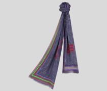 Schal mit Paisley-Print und Pegaso