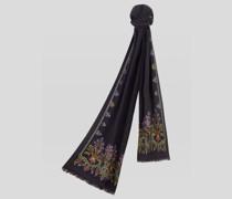 Floraler Jacquard Schal