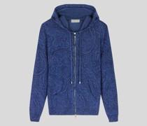 Sweater aus Kaschmir mit Paisley-Print