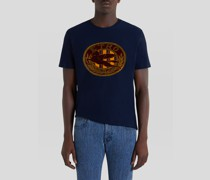 Jacquard T-Shirt mit Pegaso