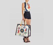 Shoppingtasche mit Nautik-Print