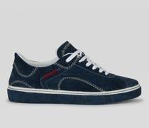 Paisley Sneaker mit Vulkanisierter Sohle
