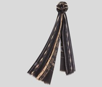 Schal aus Kaschmir mit Streifen