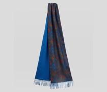 Unterlegter Schal mit Paisley-Motiv