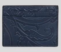 Kreditkartenetui mit Paisley-Motiven