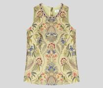 Jacquard-Top mit Floralem Paisley