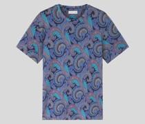 T-Shirt mit Paisley-Motiven