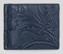 Geldtasche mit Paisley-Print