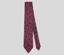 Krawatte mit Mikro Paisley-Motiven