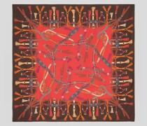 Halstuch aus Bedrucktem Seidentwill