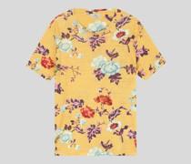 T-Shirt mit Floralen Mustern
