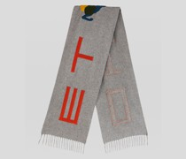 Schal aus Kaschmirtuch mit Pegaso