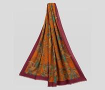 Floraler Paisley Schal aus Seide und Kaschmir