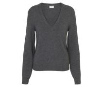 Pullover Mit V-Ausschnitt Aus Ikonischem Kaschmir