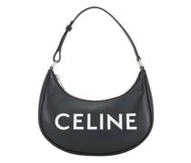 Ava Tasche Aus Glattem Kalbsleder Mit Celine-Print