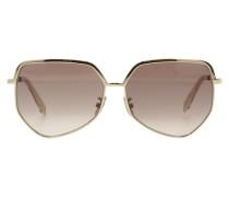 Sonnenbrille Mit Metallrahmen 13