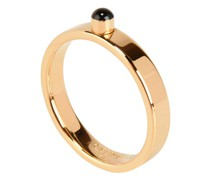 Gold finish brass Technicolor ring