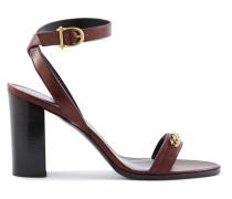 Triomphe Sandals In Calfskin