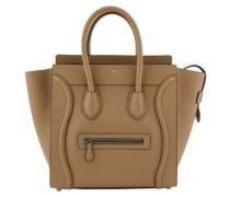 Tasche Luggage in gewalktem Kalbsleder