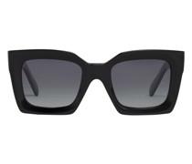 Quadratische Sonnenbrille S130 mit Acetat-Rahmen und polarisierten Gläsern