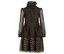 Fließendes Plumetis-Kleid