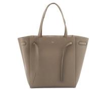 Phantom small tote bag in grained calfskin