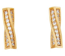 Edwige brass earrings