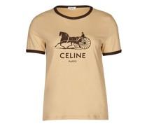 T-Shirt Sulky aus Baumwolle von Celine