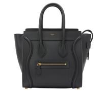 Micro Luggage handbag in smooth calfskin
