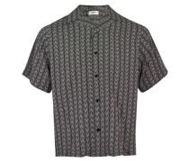 Bedrucktes Hawaiihemd aus Viskose