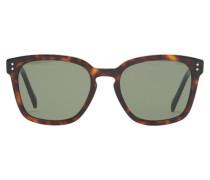 Sonnenbrille Black Frame 22 aus Acetat Mit Mineralgläsern
