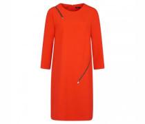 Kurzes Kleid mit Reißverschlussdetails