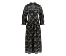 Maxikleid 'Gela' mit All-Over Muster