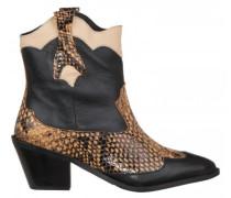 Boots 'Annie' aus Leder